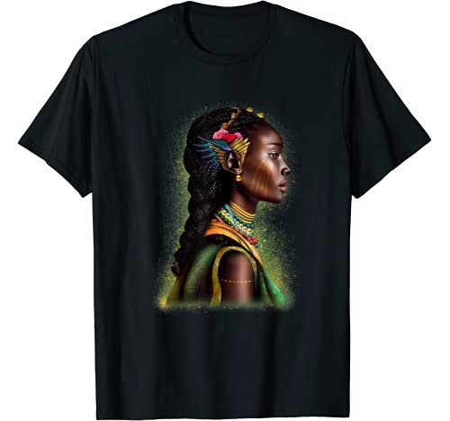 Black Woman Funny Gifts In Black History Month For Women T Shirt
