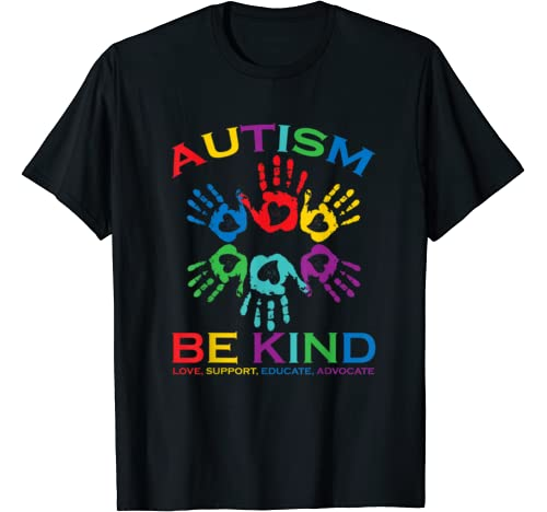 Autism Be Kind Kindness Shirt Autism Awareness Mom Dad Gift T Shirt