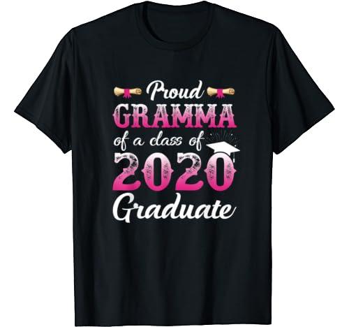 Proud Gramma Of A Class Of 2020 Graduate, Senior Gift T Shirt