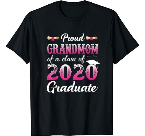 Proud Grandmom Of A Class Of 2020 Graduate, Senior Gift T Shirt
