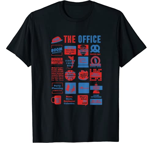 The Office Quote Mash Up Funny Official Tee Gift T Shirt