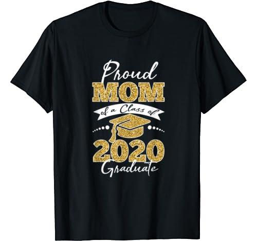 Proud Dad Of A Class Of 2020 Graduate Shirt Senior 20 Gift T Shirt