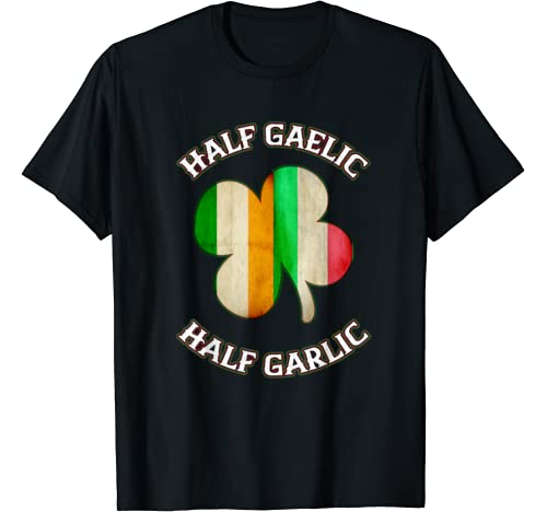 Irish Shirts For Women Men Italian St Patrick's Day  T Shirt