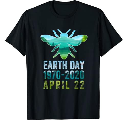 Bee Earth Day 50th Anniversary April 22nd Costume T Shirt