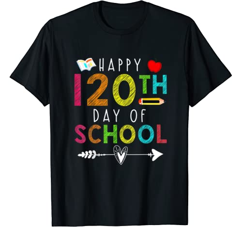 Happy 120th Day Of School Teacher Student T Shirt