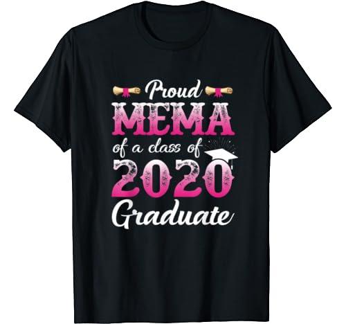 Proud Mema Of A Class Of 2020 Graduate, Senior Gift T Shirt