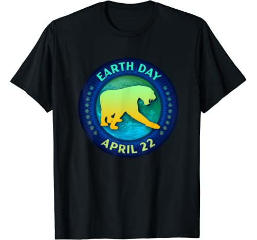 Panther Lovers Earth Day 50th Anniversary Gift T Shirt