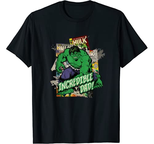 Marvel Hulk Incredible Dad Father's Day T Shirt