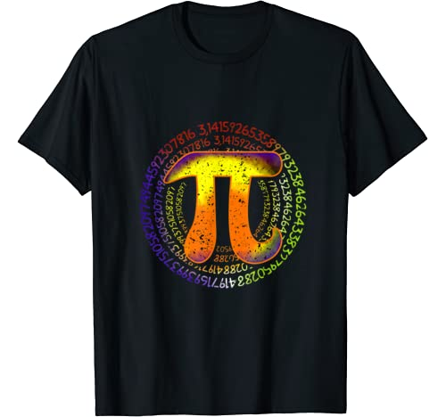Pi Day Spiral | March 14 Tie Dye Men Women Kids Math T Shirt