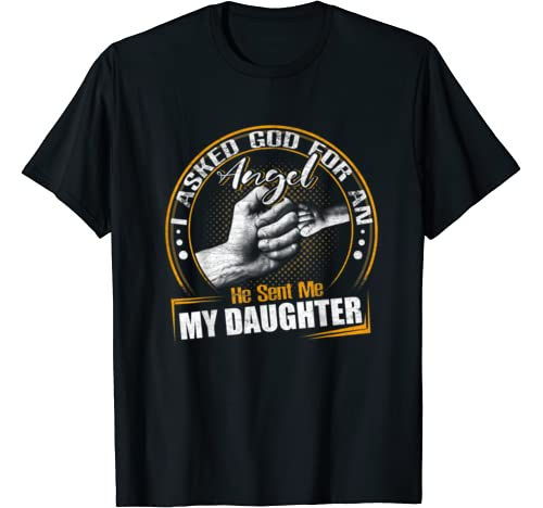 Mens Daddy And Daughter Tshirt First Father's Day Dad Papa Gift T Shirt