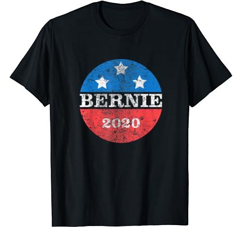 Bernie 2020   Retro Vintage Distressed Bernie Sanders 2020 T Shirt