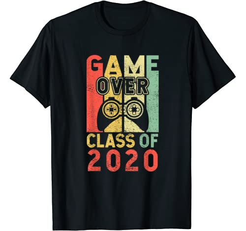 Game Over Class Of 2020 Video Games Graduation T Shirt