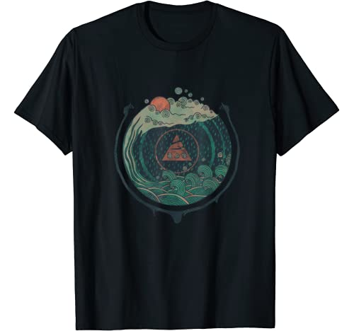 Water Drawn Nature Graphic T Shirt product image