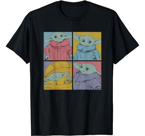 Star Wars The Mandalorian The Child Pop Art Box Up T Shirt