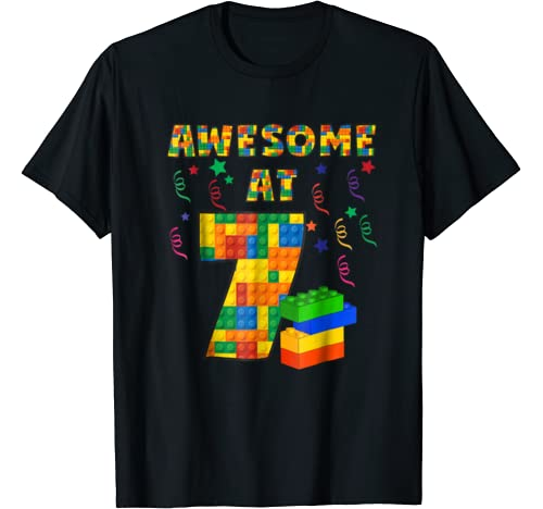 Birthday Shirt Building Blocks Bricks