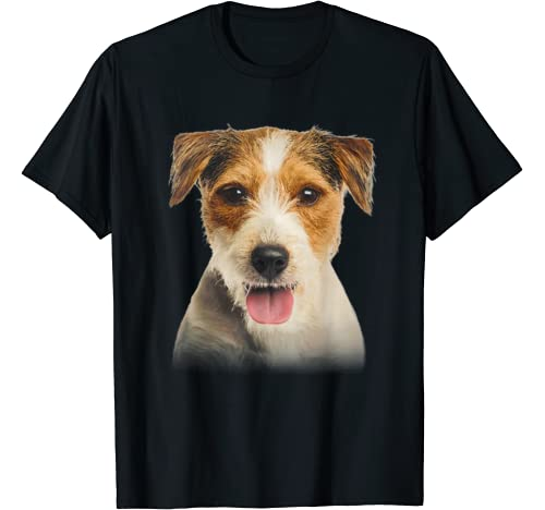 Parson Russell Terrier Only Face Christmas Dog Lover Gift T Shirt