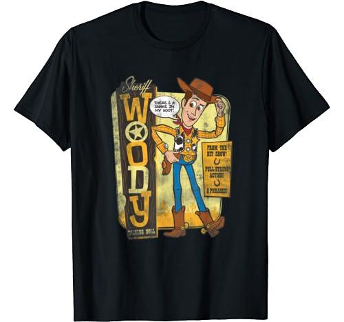Disney Pixar Toy Story Sheriff Woody Talking Doll T Shirt