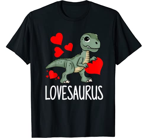 Lovesaurus Funny Valentine's Day T Rex Dinosaur Lover Gift T Shirt