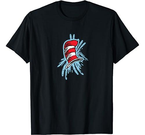 Dr. Seuss The Cat Hat Splash T Shirt