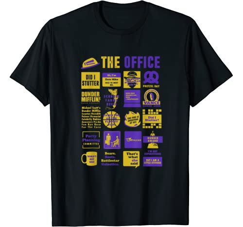 Official Tee The Office Quote Mash Up Funny Gift T Shirt