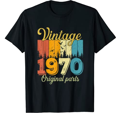 Vintage 1970 50th Birthday 50 Years Old Gift T Shirt
