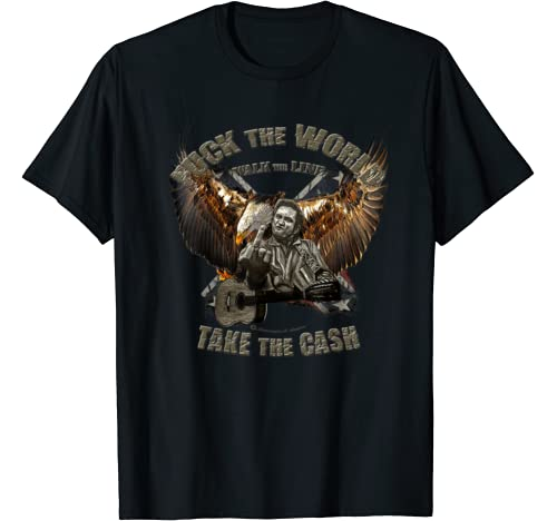 Fuck The World Cash Johnny American Eagle T Shirt