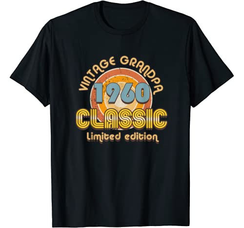Mens Vintage Grandpa Classic Automotive 1960 T Shirt