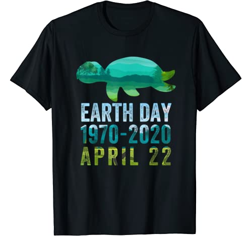 Turtle Earth Day 50th Anniversary April 22nd Costume T Shirt