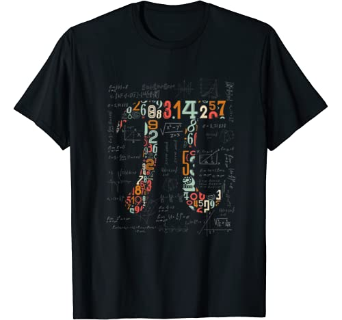 Pi Day Shirt Pi Numbers Math Teacher 3.14 Gift Boys Girls T Shirt