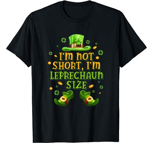 Funny Irish Leprechaun Size St Patricks Day Men Women Gift T Shirt