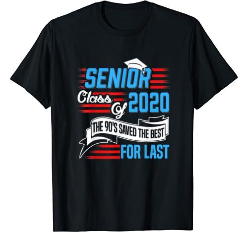 Senior Class Of 2020 Graduate Gift. Class Of 2020 Gift T Shirt