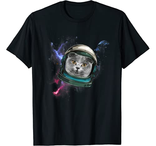 Space Cat Spaceship Cat Astronauts Cat Gift Cats T Shirt