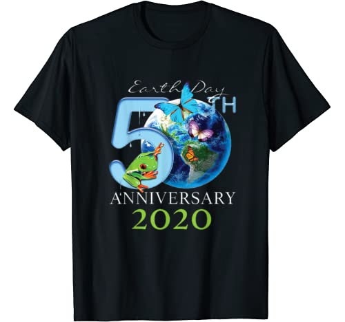 Earth Day 50th Anniversary 2020 Protect Environment T Shirt