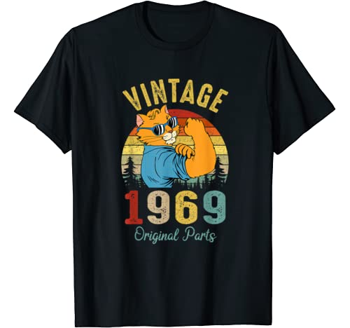 51 Years Old   Made In 1969   Vintage 51 Th Birthday T Shirt