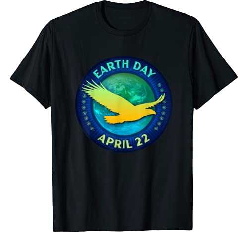 Eagle And Hawk Lovers Earth Day 50th Anniversary Gift T Shirt