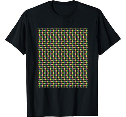 Mardi Gras Festival Pattern Diy Outfit T Shirt