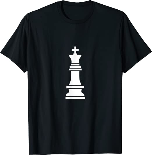 1Tee Mens King Chess Piece T-Shirt