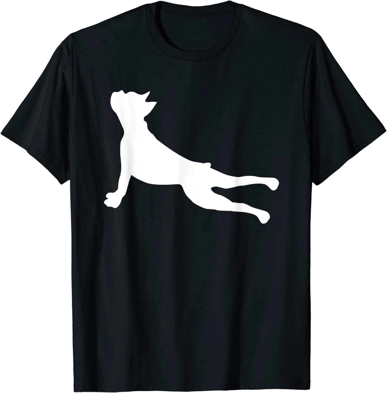 Boxer Dog Yoga Funny T-Shirt