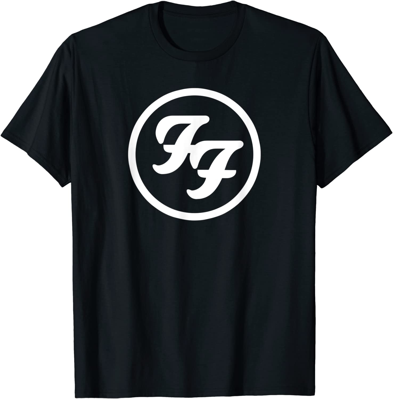Foo Fighters White Circle Logo T-Shirt
