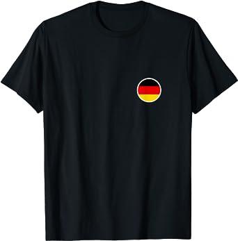 Flagge Deutschland T-Shirt