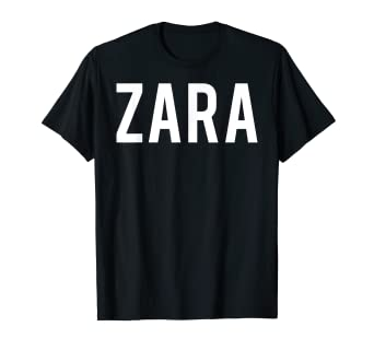 how to find uk store another chance Amazon.com: Zara T Shirt - Cool new funny name fan cheap ...