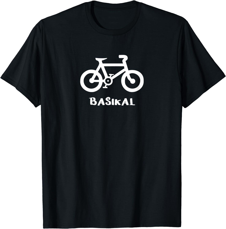 Ride Bicycle Printed Mens Short Sleeve New Cotton Black T-shirt