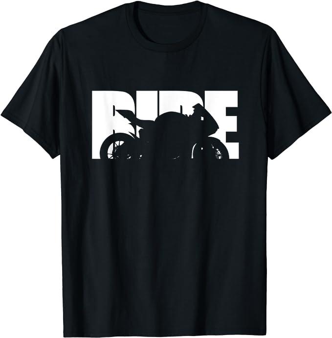 Ride Bike Design Motorcycle T-Shirt