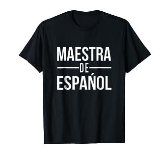 Amazon.com: Español Teacher profesora maestra de Espanol ...