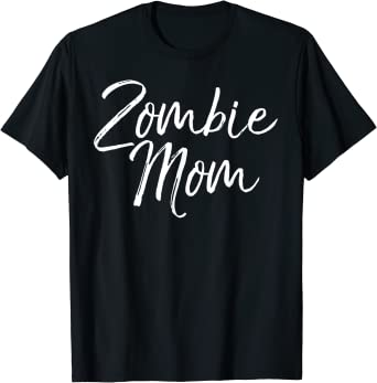 Matching Zombie Halloween Costumes for Family Zombie Mom T-Shirt