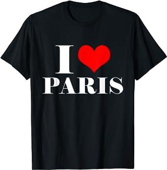 Love Paris French international tees.