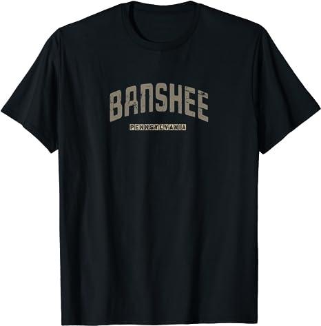 Amazon Com Banshee Pennsylvania Vintage City Distressed Shirt Clothing