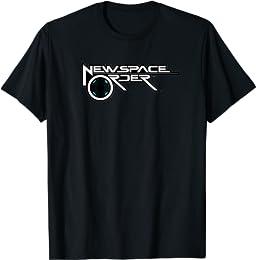ニュースペースオーダー001 Tシャツ