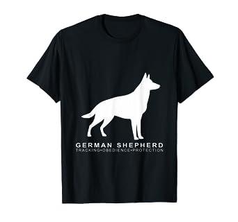 Amazon com: German Shepherd Dog Schutzhund Training T-Shirt
