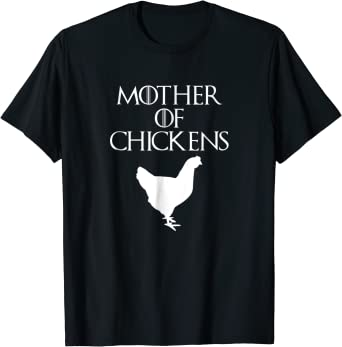 Chickens Patrick/'s Day Shirt Chickens Lovers T-Shirt Cute White Mother Chicken Shirt Lucky Clover Shirt Mother Chicken Gift,